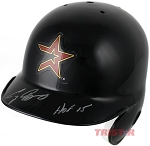 Craig Biggio Autographed Astros Mini Batting Helmet Inscribed HOF 15