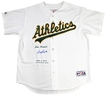 Jose Canseco Autographed Oakland A's Embroidered Jersey LE