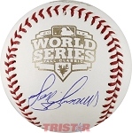Jose Mijares Autographed 2012 World Series Baseball