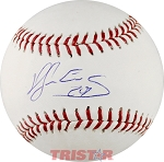 Hector Sanchez Autographed Official ML Baseball