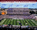 Texas A&M Commemorative 16x20 Photo - 14 Signatures LE of 112
