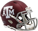 Texas A&M Maroon Speed Replica Mini Helmet