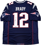 Tom Brady Autographed New England Patriots Nike Limited Jersey