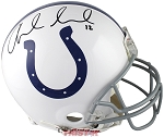 Andrew Luck Autographed Indianapolis Colts Authentic Full Size Helmet