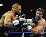 Roy Jones Jr. Autographed Boxing Ruiz 8x10 Photo