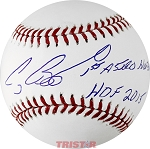 Craig Biggio Autographed Official ML Baseball Inscribed 1st Astros HOFer, HOF 15