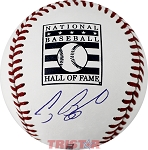 Craig Biggio Autographed Official Hall of Fame Logo Baseball