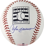 Andre Dawson Autographed Official Hall of Fame Baseball
