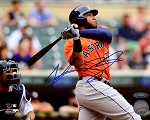 Jon Singleton Autographed Houston Astros 8x10 Photo