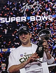 Aaron Rodgers Autographed Green Bay Packers Super Bowl XLV 11x14 Photo