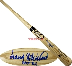 Frank Robinson Autographed Rawlings Name Model Bat Inscribed HOF 82