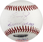 Ken Griffey Jr. Autographed Official Baseball Inscribed #1 Overall Pick 1987 LE 10/101