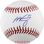 Alex Verdugo Autographed Official Baseball