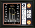 Houston Astros World Series Champions Signature Photo Mint Exclusive for TRISTAR