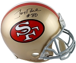 Jerry Rice Autographed San Francisco 49ers Authentic Full Size Helmet