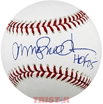 Ryne Sandberg Autographed Official ML Baseball Inscribed HOF 05