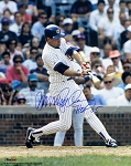 Ryne Sandberg Autographed Chicago Cubs 16x20 Photo Inscribed HOF 05