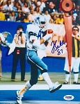 Jay Saldi Autographed Dallas Cowboys Catch 8x10 Photo