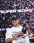 Aaron Rodgers Autographed Green Bay Packers Super Bowl XLV 16x20 Photo