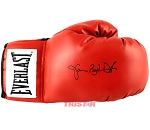 Buster Douglas Autographed Everlast Red Boxing Glove