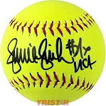 Jennie Finch Autographed Women's Official Softball
