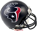 Brian Cushing Autographed Houston Texans Mini Helmet