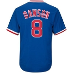 Andre Dawson Unsigned Chicago Cubs Replica Blue Jersey