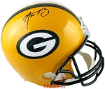 Aaron Rodgers Autographed Green Bay Packers Full Size Replica Helmet