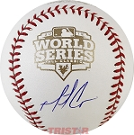 Matt Cain Autographed 2012 World Series Baseball