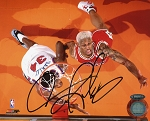 Dennis Rodman Autographed Chicago Bulls 8x10 Photo