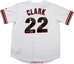 Will Clark Autographed San Francisco Giants Replica Jersey
