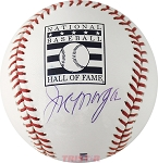 Joe Morgan Autographed Official Hall of Fame Baseball
