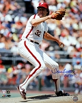 Steve Carlton Autographed Philadelphia Phillies 16x20 Photo Inscribed HOF 94