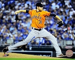 Collin McHugh Autographed Houston Astros 8x10 Photo
