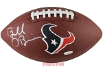Bill O'Brien Autographed Houston Texans Logo Football