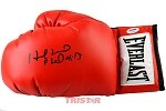 Evander Holyfield Autographed Everlast Red Boxing Glove