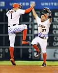 Jose Altuve & Carlos Correa Autographed Houston Astros 16x20 Photo