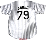 Jose Abreu Autographed Chicago White Sox Custom Jersey