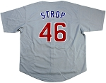 Pedro Strop Autographed Chicago Cubs Jersey