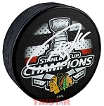 Andrew Shaw Autographed Chicago Blackhawks 15 Stanley Cup Champs Puck