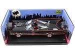 Adam West & Burt Ward Autographed Batman Diecast 1:18 Batmobile