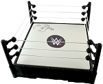 Ric Flair Autographed WWE Wrestling Ring