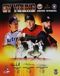 Mike Scott, Roger Clemens & Dallas Keuchel Autographed Astros Commemorative 16x20 Photo