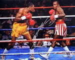 Sugar Ray Leonard & Tommy Hearns Autographed 16x20 Photo