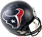 Lamar Miller Autographed Houston Texans Full Size Replica Helmet