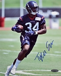 Tyler Ervin Autographed Houston Texans 8x10 Photo