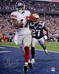 Plaxico Burress Autographed New York Giants Super Bowl XLII 16x20 Photo