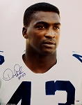 Don Perkins Autographed Dallas Cowboys 16x20 Photo