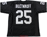 Fred Biletnikoff Autographed Oakland Raiders Custom Jersey Inscribed SB XI MVP