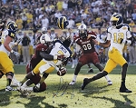 Jadeveon Clowney Autographed South Carolina 'The Hit' 16x20 Photo